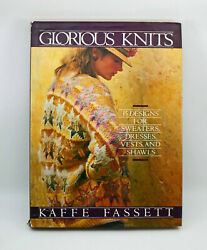Glorious Knits Thirty Designs For Sweaters, Dresses. Vests And Shawls By...