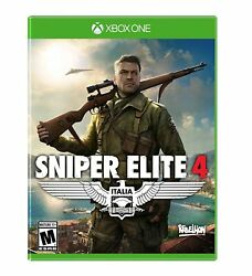 Sniper Elite 4 - Xbox One - New Free Us Shipping
