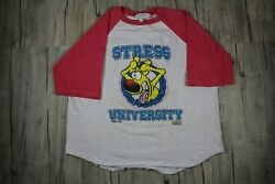 Vintage Mother Goose And Grimm Stress University Comedy Shirt Size L