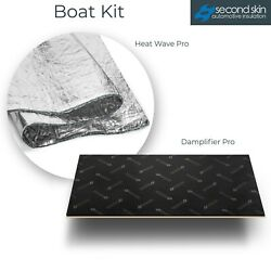 Boat Engine Compartment Insulation Kit Standard Small 12 Sqft