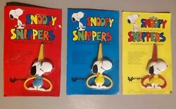 Vintage Retro Kitsch Peanuts Snoopy Snippers Scissors Sealed In Packaging