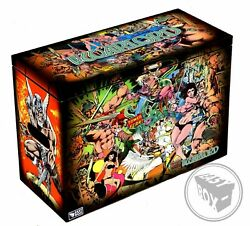The Warlord - Large Comic Book Hard Storage Box Chest Mdf