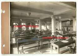 Vintage Pfister And Vogel Leather Co. Real Photo Milwaukee Wiaccounting Dept.