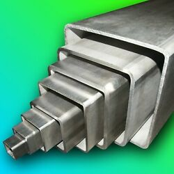 316 Stainless Steel Square Box Section  Any Size  Any Length