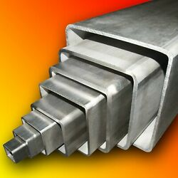 304 Stainless Steel Square Box Section  Any Size  Any Length