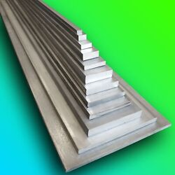 316 Stainless Steel Flat Bar  Any Size  Any Length