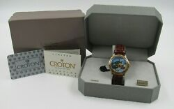Scrooge As Prospector Croton Watch Disney Armani Convention 1999 New In Box Rare