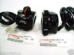 Yamaha Rd350lc Switch Lh + Rh Nos Rd250lc Rz350 Switches 4l0-83975-00 4l0-83972-