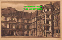 R075000 The Castle Gaston Dorleans Front And The Francois Ist. Staircase. Tours