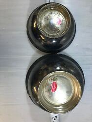 A Gorham Silver Original Lot Of 2 Footed Bowls Gorham Silver Ep Yc 780 And Yc 779