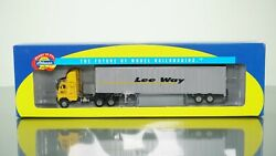 Athearn 91084 Freightliner W/ 48and039 Trailer Lee Way Ho Scale