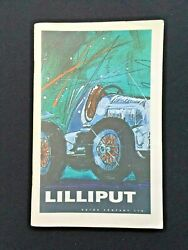 Lilliput Book Catalog, Features Old Antique Wind Up Toy Cars And Toys