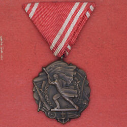 Yugoslavia Serbia Medal Order Of Mility Merit 3rd Class Early Type Rare