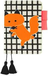 Hobonichi Techo AKI Kondo Dancing Fox A6 Size Cover ONLY JAPAN AU $59.95