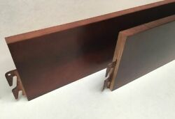 Wooden Hook Twin And Full Size Cherry Finish Bed Rails