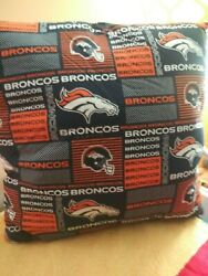 Xl, Denver, Broncos, Nfl, Pillow, Pro, Sofa, Bed, Chair, Decorative, Throw,youth