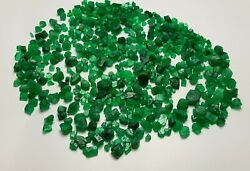 220 Ct Good Quality Natural Emerald Crystals Type Rough Lot @ Swat Mine Pk