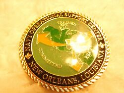 United States Of American Dept The Navy New Orleans Louisiana Challenge Coin