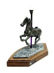 Michael Ricker Pewter American Carousel Horse Collection Mary 1994