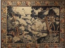 Antique Aubusson Tapestry 19th Century