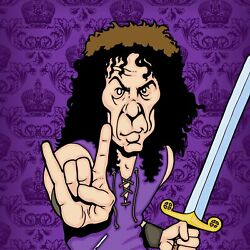 Ronnie James Dio By Anthony Parisi Limited Edition Print