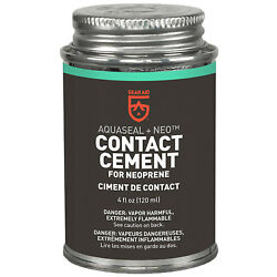 Gear Aid Aquaseal Neo Contact Cement For Neoprene And Wetsuit Repair 4 Fl Oz