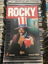 Hot Toys Apollo Creed Carl Weathers From Rocky Movie Action Figure/ Figurine 1/6