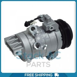 New A/c Compressor For Ford Mustang 3.7l - 2015 To 2017 - Oe Ycc379 / Ycc441