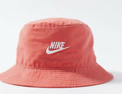 Nike Sportswear Bucket Hat Washed Black Unisex L XL Red CU6345 631 $29.70
