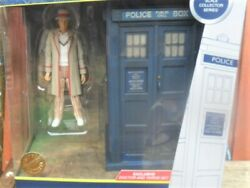 Doctor Who Fifth Doctor And Tardis From The Visitation Figure Set Bandm