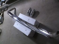 1965-66 Rover P5-p5b Mk Lll Rear Bumper And Guards Re-chromed