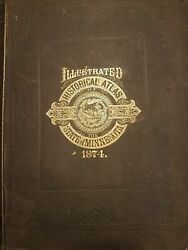 A T Andreas / Illustrated Historical Atlas Of The State Of Minnesota 1st Ed 1874
