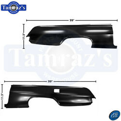 1962 Chevy Impala Quarter Panel Full - Pair Lh Left Hand And Rh Right Hand 2 Door
