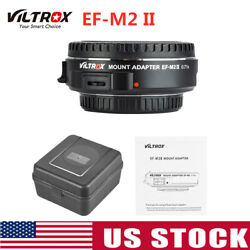 Viltrox Ef-m2 Ii 0.71x Lens Mount Adapter Af For Canon Ef Lens To Mftm4/3 H6o6