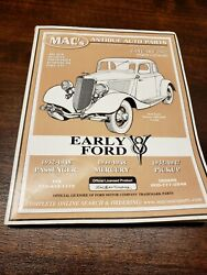 Early Ford V8 Parts Catalog Macand039s Antique Auto Parts January 2002