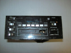 1979 1980 1981 1982 Ford Lincoln Am Fm Stereo Radio Cassette Tape Player Works