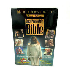 Reader's Digest Classic Collection Great People Of The Bible 6 Disc Box Set Dvd