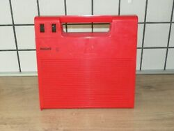 Vintage Rare 70s. Portable Record Player 180 Philips 22af180/01e Perfect Looks