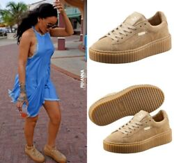 Creeper By Rihanna Size 8 Us Eu 38.5 Suede Sneakers Womenand039s Shoes Fenty