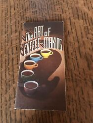 The Art Of Coffee Making 1948 Hills Brothers Co Brewing Walk Through Book