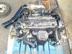92-96 Honda Prelude 2.3l Dohc Engine H23a1 Engine And Mt 5speed Transmission H23a