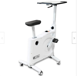 Fit Right 8 Level Magnetic Resistance Exercise Bike Desk Home And Office Use