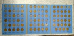 61 Coin Set 1909-1940 Lincoln Wheat Penny Cent - Early Dates Collection 273