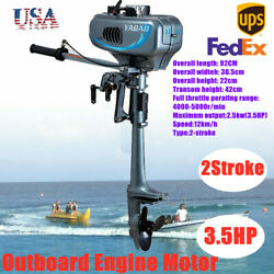 3.5-hp Outboard Motor 2-stroke Inflatable Boat Engine Cdi Water Cooling Ce