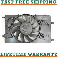 Radiator Fan For 13-16 Buick Fits Verano 2.0l L4 Free Shipping