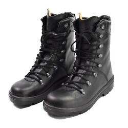 Original German Army Boots Black Leather Field Bdu Combat Bw Military Issue New