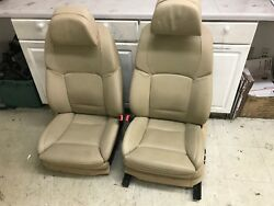 Bmw Oem F10 550 535 2011-15 Pair Front Left Right Heated Sport Comfort Seats Tan