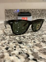 Ray Ban Wayfarer Sunglasses RB2140 902 54mm Tortoise Shell G 15 $60.00