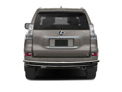 Black Horse Rear Bumper Guard Stainless Double Layer Fit 03-20 Lexus Gx460/gx470