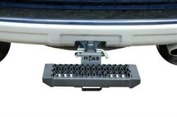 N-fab Universal Growler Hitch Step - 2in Receiver Textured Black